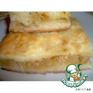 Рецепт: Пирог с капустой