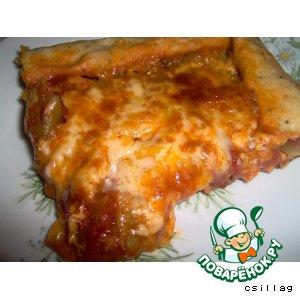 Рецепт Вегетарианская пицца