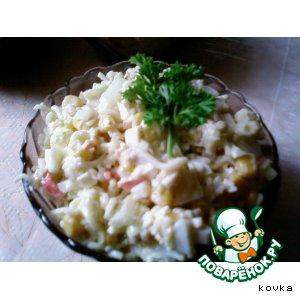 Рецепт: Салат с Мивиной