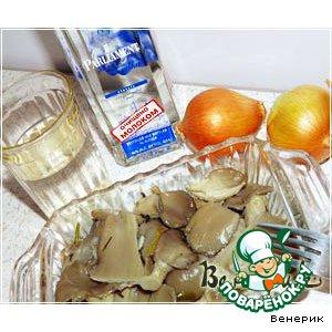 Рецепт: Экспресс-маринование свежих вeшенок