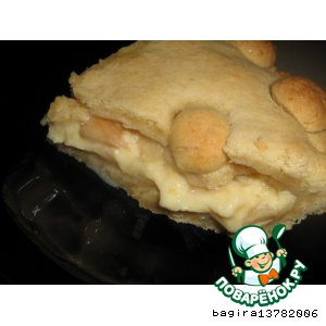 Рецепт Баскский пирог с яблоками