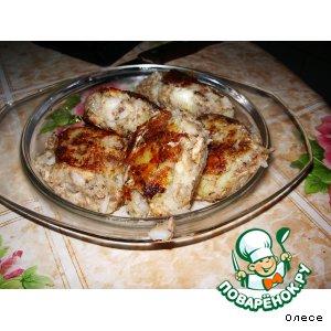 Рецепт: Рыбные котлетки  из сайры