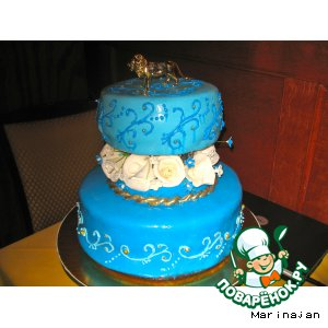 Recommendations on covering the cake with fondant