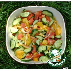 Овощной салат – кулинарный рецепт