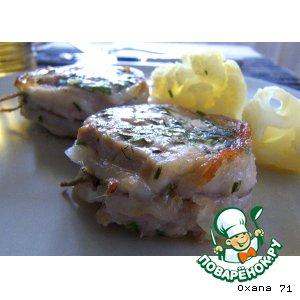 Рецепт: Свиное филе с ароматными травами