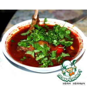 Рецепт: Кавурма-Шурпа
