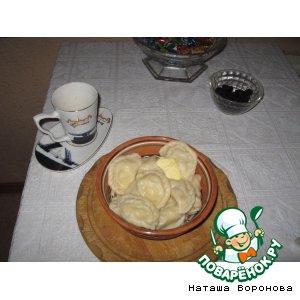Рецепт: Вареники с картошкой