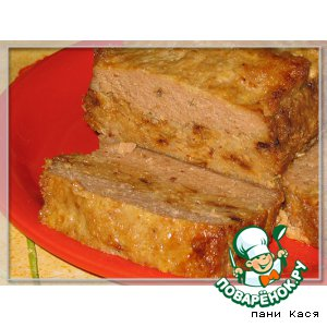 Рецепт: Запеканка мясная с гречкой