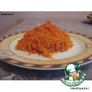 Рецепт: Корейская морковка