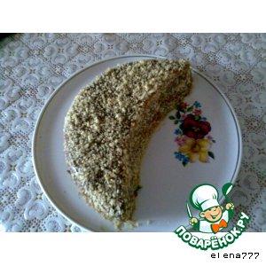 """Рецепт: Пирог """"Месяц"""""""