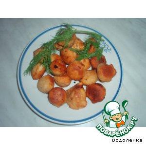 Рецепт: Пельмени мясо-овощные