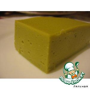 Soufflé green peas