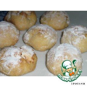 Печенье с белковой начинкой
