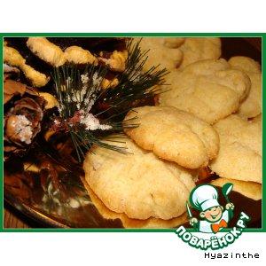 """Рецепт: Печенье """"Кедровые шишки"""""""