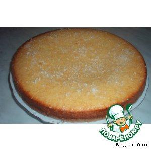 Рецепт: Пирог Лимон с кокосом