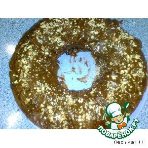 Рецепт: Шоколадный кекс на кефире