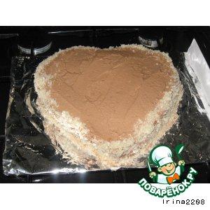 Рецепт: Маленький шоколадный торт