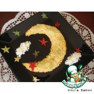 """Рецепт: Салат """"В ночь перед Рождеством"""""""
