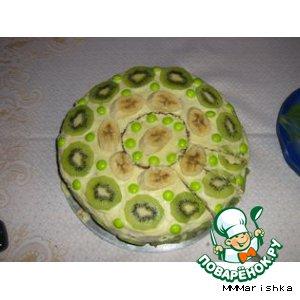 Рецепт: Вкусный тортик