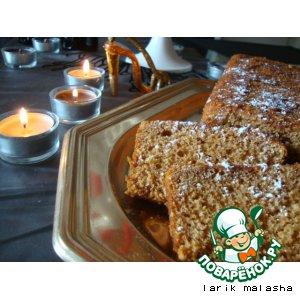 Рецепт: Рождественская медовая коврижка Пряный хлеб