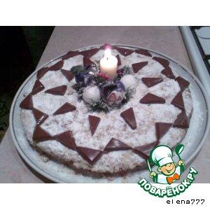Рецепт: Новогодний пирог с сюрпризом