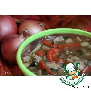 Рецепт: Суп из сельдерея