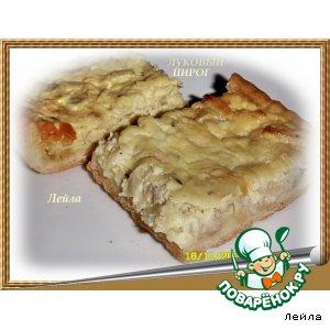 Рецепт: Луковый пирог