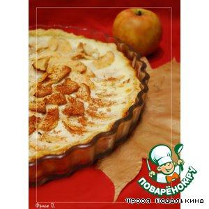 Рецепт: Нормандский яблочный пирог