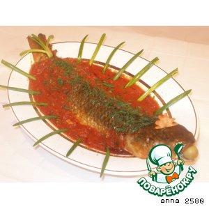 Рецепт: Рыба в томатном соусе