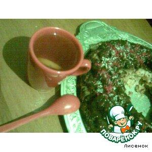 Рецепт: Слоеная шарлотка из манки