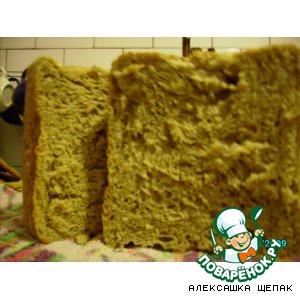Рецепт: Луково-чесночный хлеб