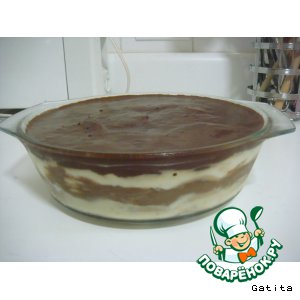"Рецепт: Тортик с маскарпоне ""Лжетирамису"""