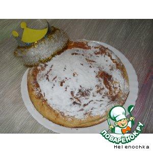 Рецепт Миндальный пирог - galette des rois
