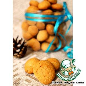 Рецепт: Датское перечное печенье Орешки