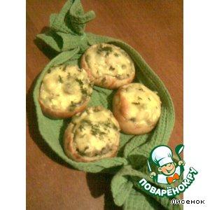 Рецепт Закусочные булочки с грибным салатом