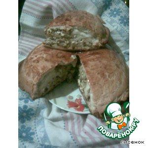 Рецепт: Слоеный пирог с луково-яичной начинкой