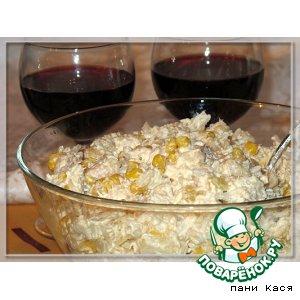 Рецепт: Салат куриный с грушей