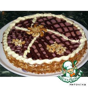 """Рецепт: Торт """"Абрикотин"""""""