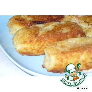 Рецепт: Картофельные зразы с ветчиной и сыром