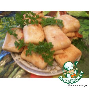 Рецепт: Бурритос с мясом и кукурузой по-домашнему