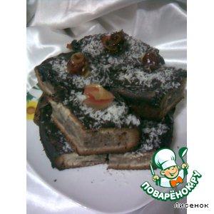 Рецепт: Пирожные Мраморные