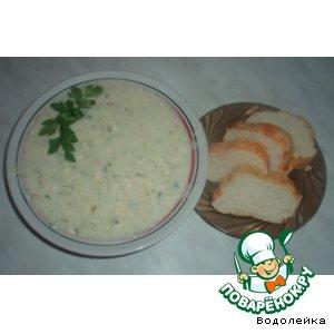 Рецепт: Суп-пюре сырный