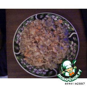 Рецепт: Гречка с грибами