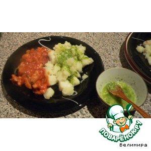 Рецепт: Простой зеленый соус