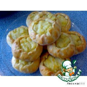 Рецепт Ватрушки с картошкой