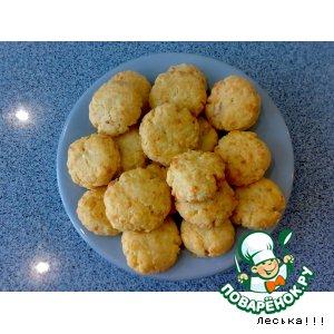 Рассыпчатое сырное печенье