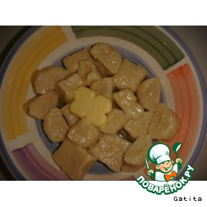 Рецепт: Картофельные гноччи