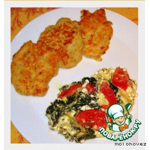 Рецепт: Пангасиус в винном кляре с креветками
