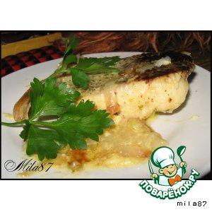 Рецепт: Ужин из рыбы По-щучьему велению