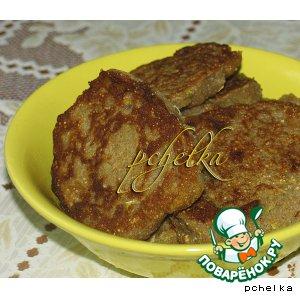 Рецепт: Гречнево-кабачковые котлетки